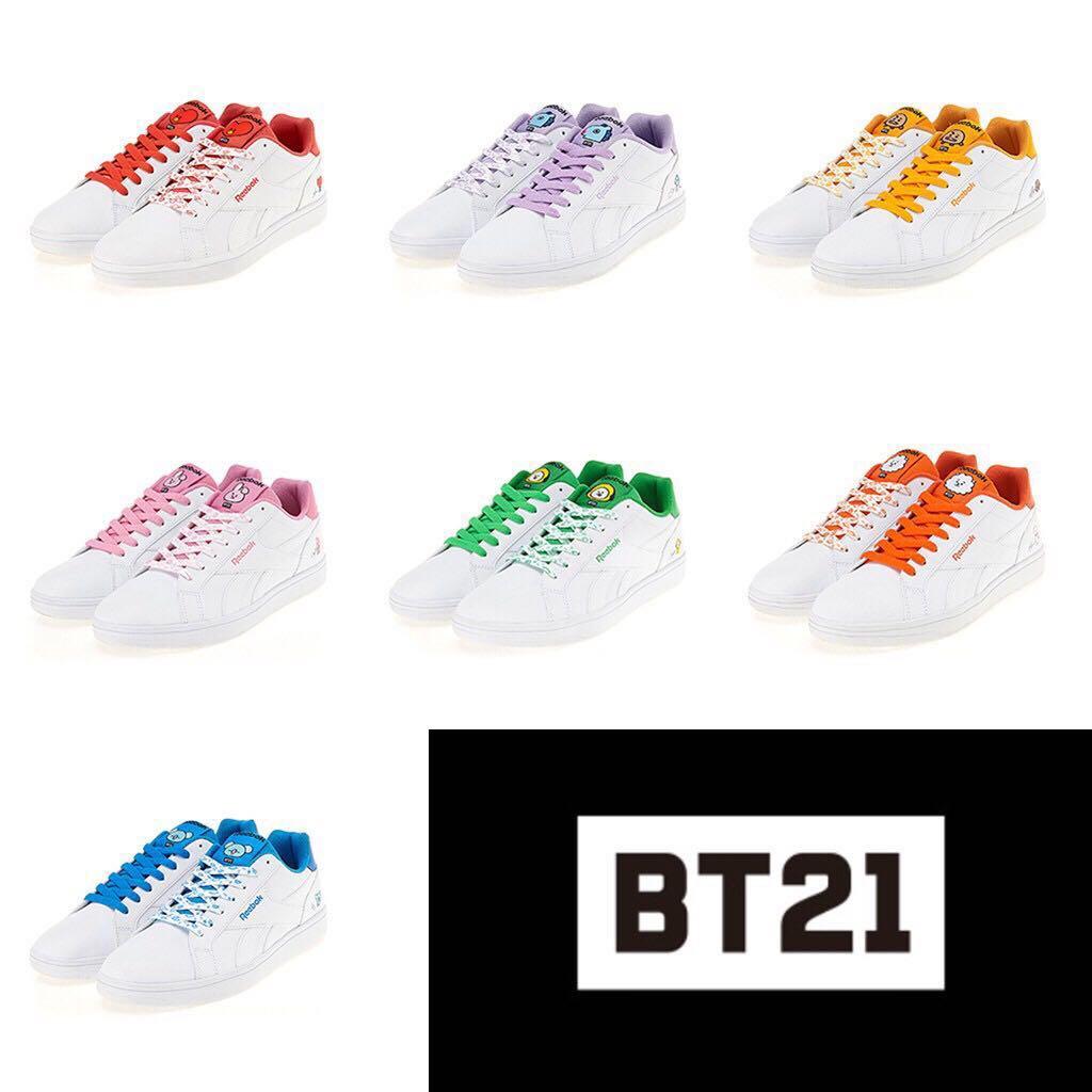 902431895 PO Reebok x BT21 Royal Complete 2LCS
