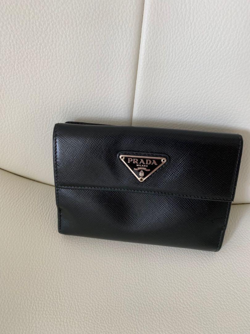 f8e5d5988ee6e4 Prada Saffiano leather wallet, Luxury, Bags & Wallets, Wallets on ...