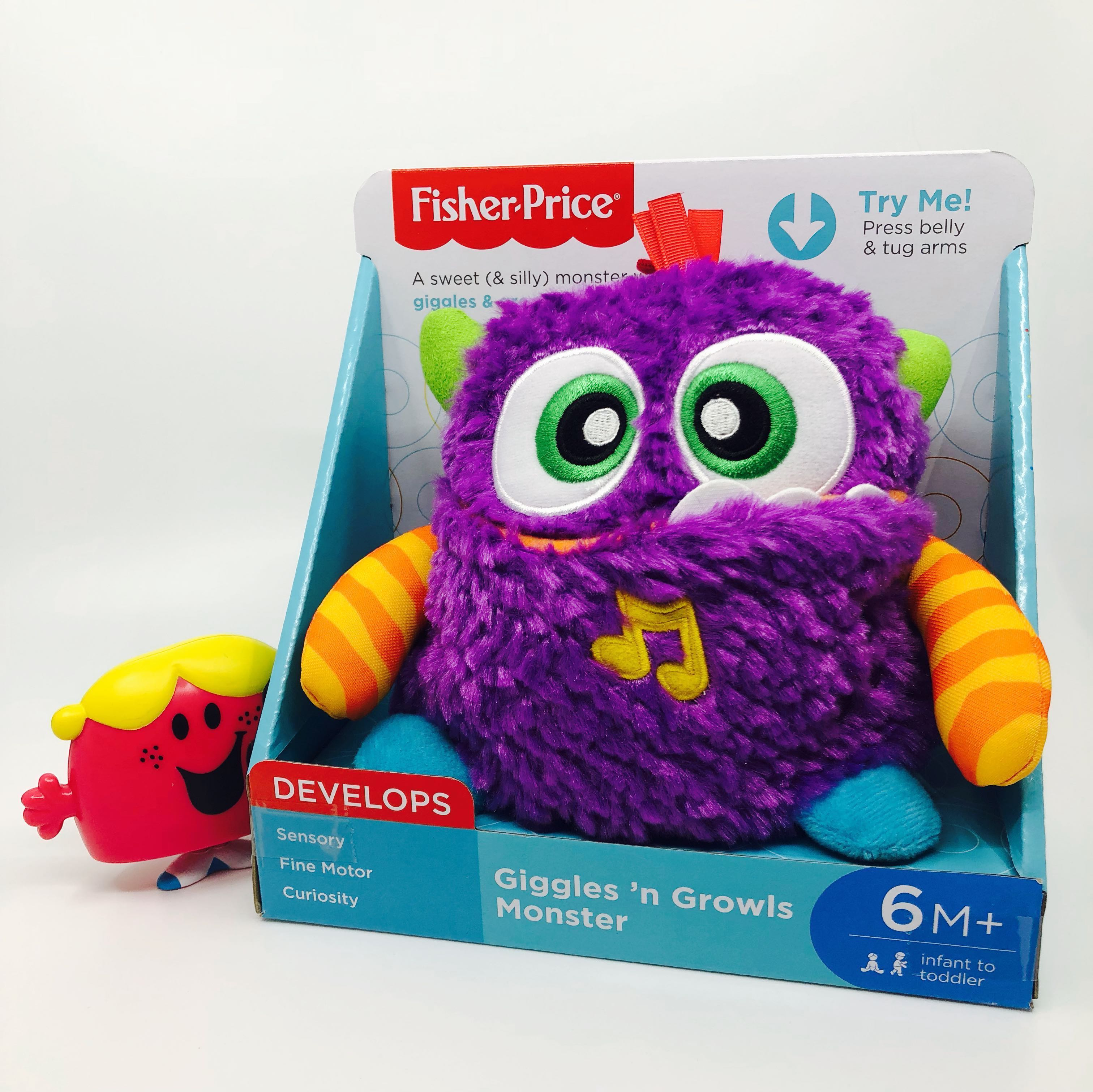 d74ccd1f6 Ready Stocked~ Fisher-Price Giggles 'n Growls Monster plush, Babies ...