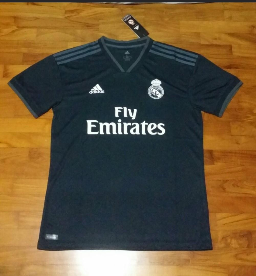 competitive price ed499 714c2 Real Madrid Away (18/19), Sports, Sports Apparel on Carousell