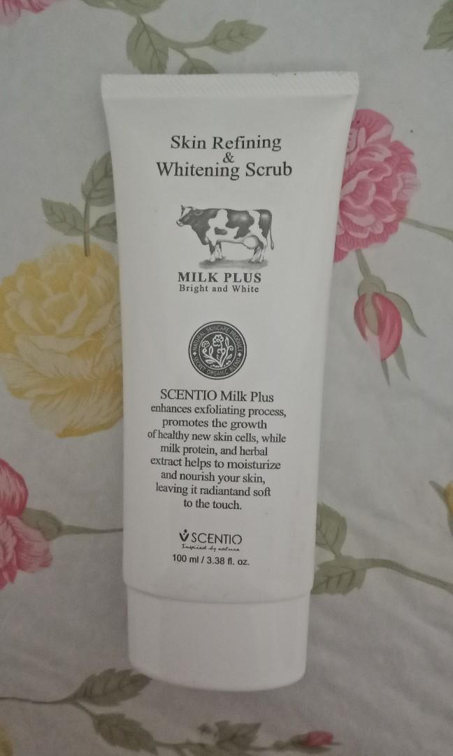 scentio Skin Refining Whitening Scrub #CNY2019