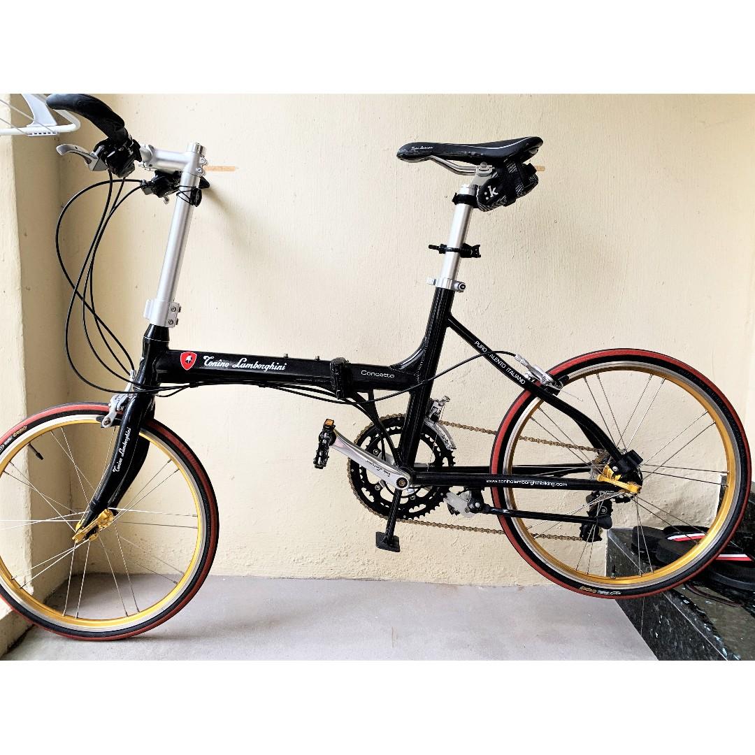 Selling My Tonino Lamborghini Folding Bike Bicycles Pmds