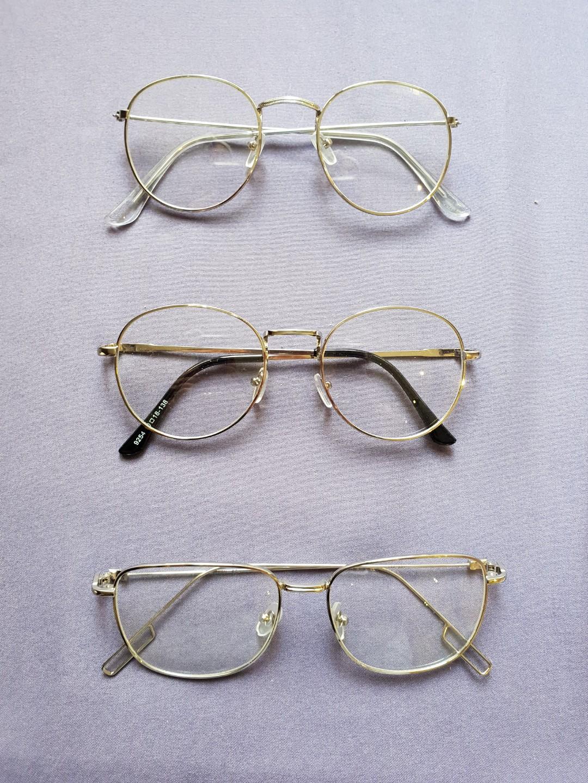 362495fdb79 Silver steel replaceable eyeglasses specs optical eyewear