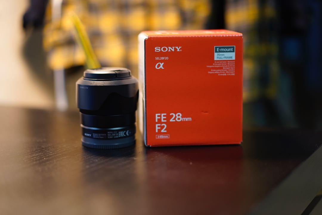 Sony 28mm f2.0  5 months old