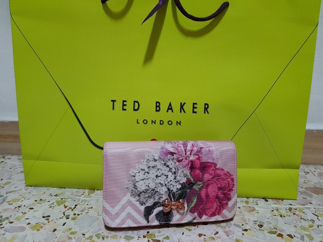 c3b42c6d4 Ted Baker Palace Gardens Bow Evening Bag (Limited Edition), Luxury ...