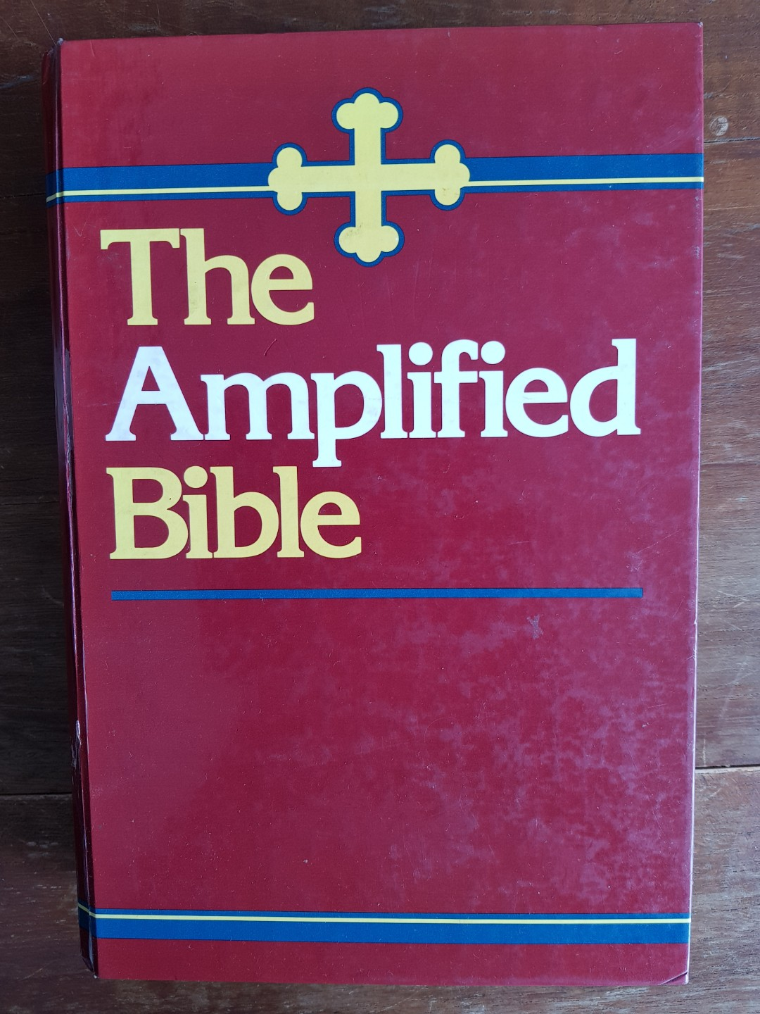 The Amplified Bible- Large print