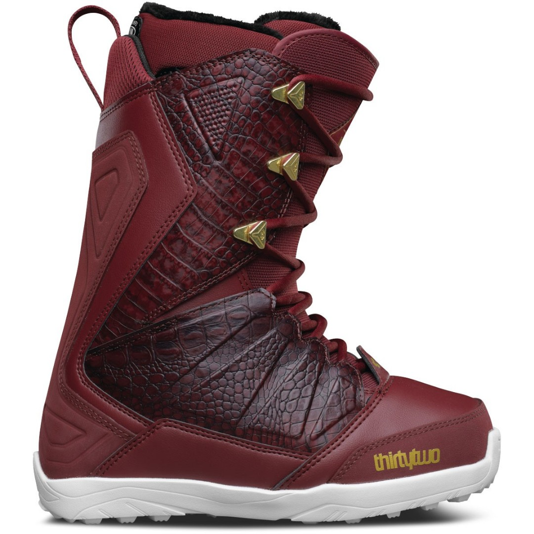 d4add905160 ThirtyTwo Women Snowboard Boots 'Lashed' (Burgundy)