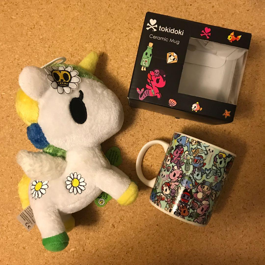 Tokidoki Plush & Mug Set!
