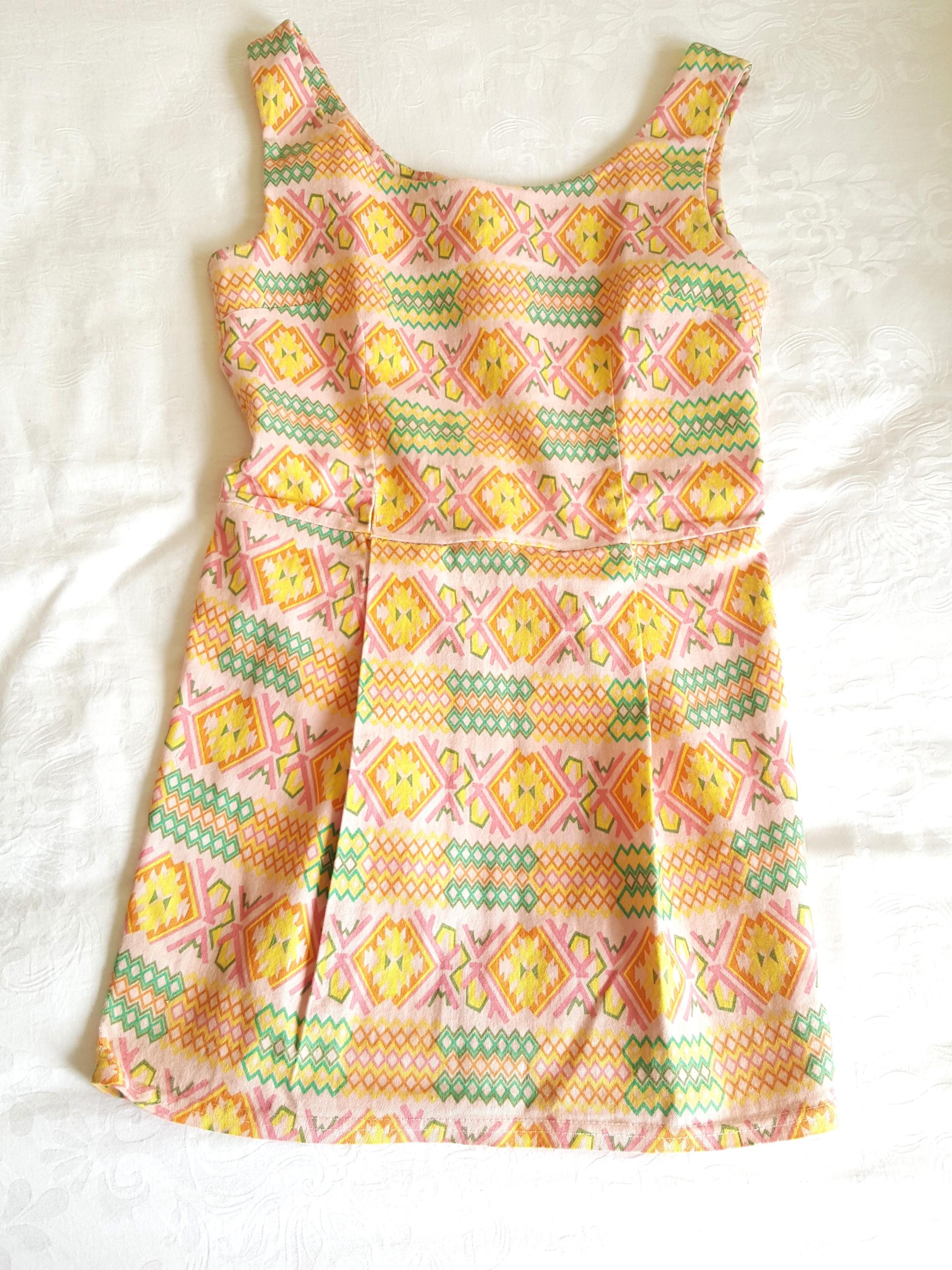 Tribal Mini Dress