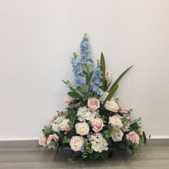 Wedding Decorative Flower Piece Gardening On Carousell