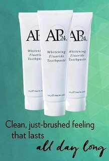 Authentic AP-24 whitening Flouride Toothpaste