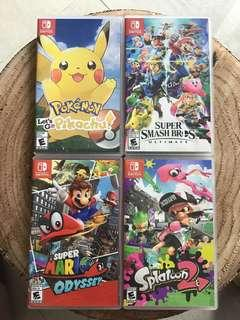 Nintendo Switch Games !