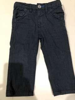 Black stripes pants