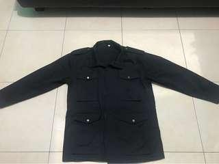jaket parka hitam keren