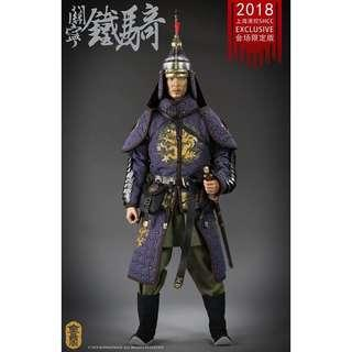 [PREORDER] Kong Ling Ge KLG-R016 - 1/6th Scale Collectible Figure - Ming Dynasty Guan Ning Cavalry (SHCC 2018 Exclusive)