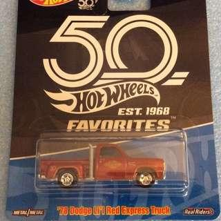 Dodge Lil Red Express Truck from the 50th Anniversary Favourites Series