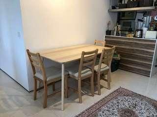 Dining set (Ikea) plus others