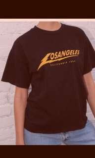 [WTT] Los Angeles Black Shirt Top