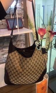 Gucci GG Canvas Charlotte Hobo Bag