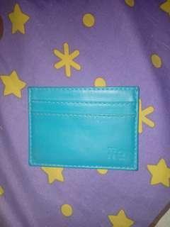 Card holder hijau tosca