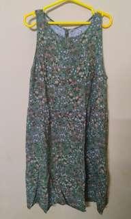 Dress Floral Green