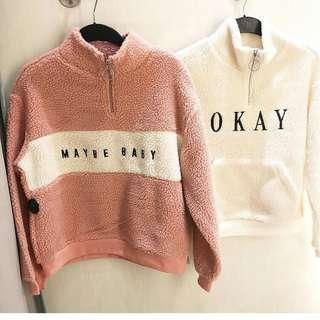 H&M zip sweater