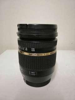 Tamron 17-50mm f/2.8 VC for Canon Mount