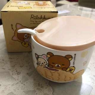 拉拉熊喵喵造型瓷碗/杯子