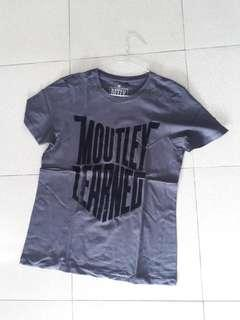 T-SHIRT MOUTLEY UK L 100% ORI