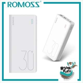 ROMOSS Sense 8 Plus PD QC3.0 3 output 30000mAh Power Bank