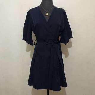 Navy Blue Bangkok Mini Dress
