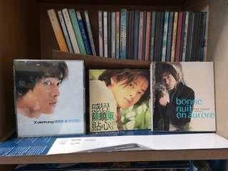 Preloved audio CDs - Stefanie Sun, Fann Wong, Ann Kok, Daniel Chan, Gigi Leung, Stella Huang, Ah Niu, Alex Toh, Leo Ku, Mavis Hee from my school days! etc