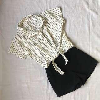 Stripes Buttondown Polo