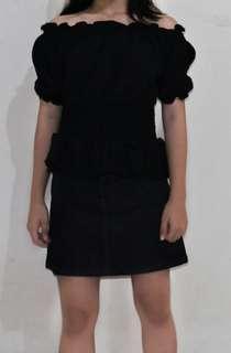 Sabrina Black offshoulder
