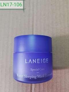 LN17-106: water sleeping mask (lavender) 25ml