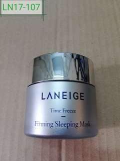 LN17-107: time freeze firming  sleeping mask 25ml