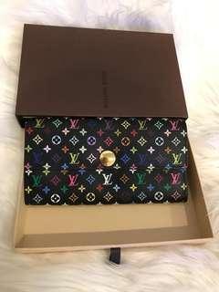 Louis Vuitton Emilie Multicolor Wallet