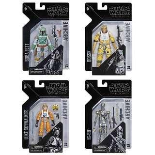 Star Wars Black Series Archive Set of 4