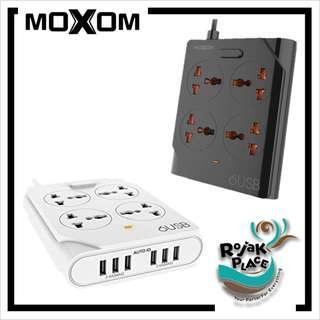 MOXOM KH-63 Extension Power 4 Universal Sockets 6 USB Ports