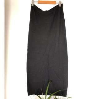 Della Spiga Wool Skirt