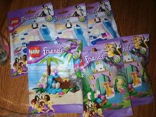 Lego Friends polybag girls