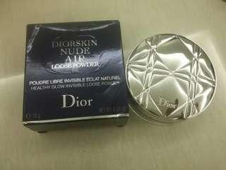 Dior nude air loose powder warna 030 beige moyen/medium beige