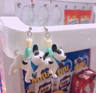 Pasteldreamcollective dog miniature earrings