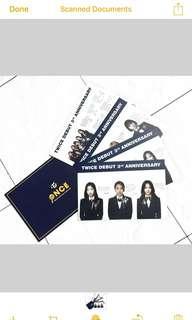 Twice 3rd Ann. Fanclub goods