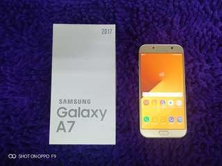 Samsung A7 2017 fullset