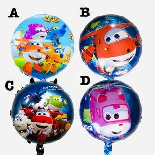 Super Wings party supplies - balloons/ party deco