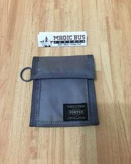 Yoshidakaban Porter tanker wallet grey