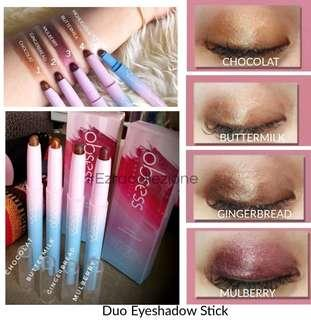 Duo Eye Shadow Stick by Obsess Cosmetics