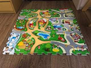 Fisher price foam puzzles