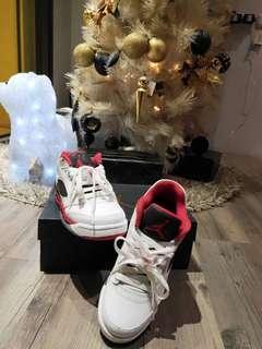 🏀限量正品AIR JORDAN 5 RETRO LOW(GS) 314338-101喬丹五代籃球鞋🏀